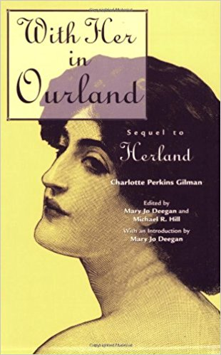 Couverture du livre With Her in Ourland de Charlotte Perkins Gilman